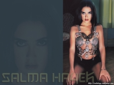 SALMA hayek sexy babe wallpaper 2