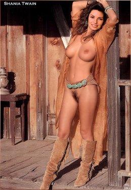 Shania Twain Naked 02